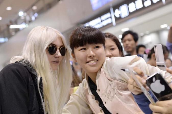 Taylor Momsen à son arrivée à Tokyo le 24 septembre 2012