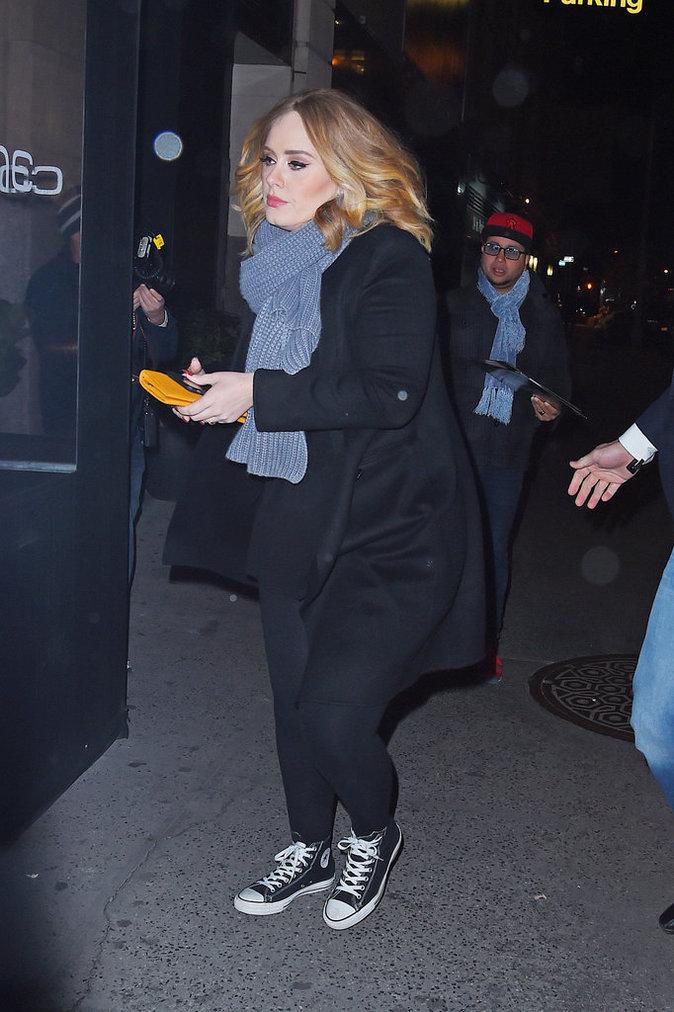 Jennifer Lawrence, Adele et Emma Stone le 23 novembre 2015