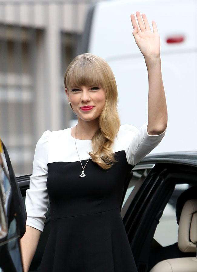 Taylor Swift à Paris le 8 novembre 2012
