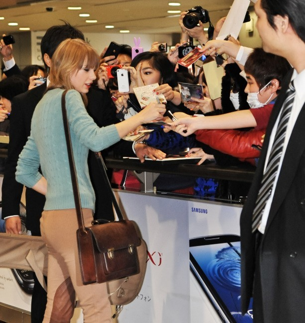 Taylor Swift le 21 novembre 2012 au Japon