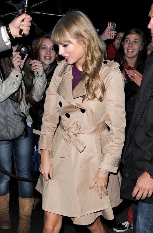 Taylor Swift, Londres, 5 octobre 2012.