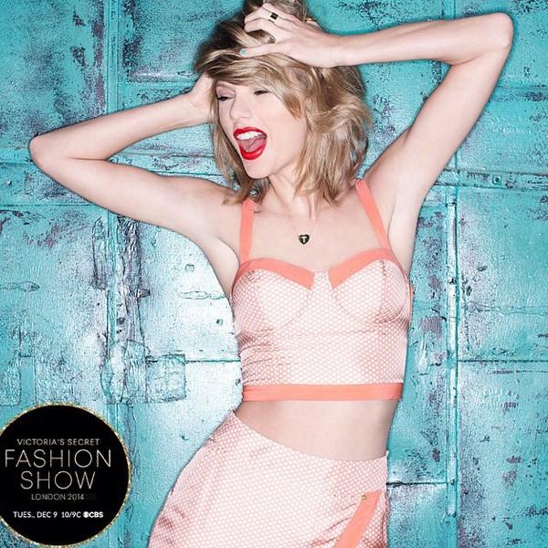 Taylor Swift chantera au prochain défilé Victoria's Secret