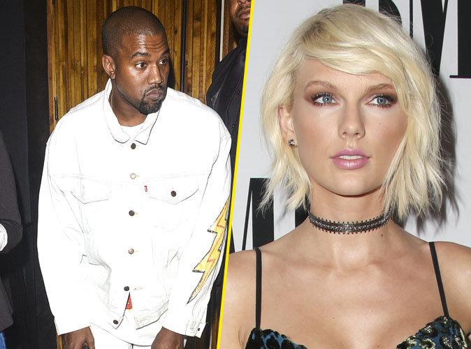 Photos : Taylor Swift contre-attaque et menace Kanye West