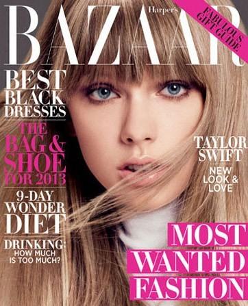 Taylor Swift ne va pas être de si tôt en Une du prestigieux Harper's Bazaar !