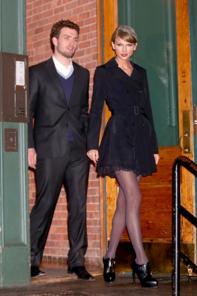 Taylor et Austin Swift le 22 décembre 2014