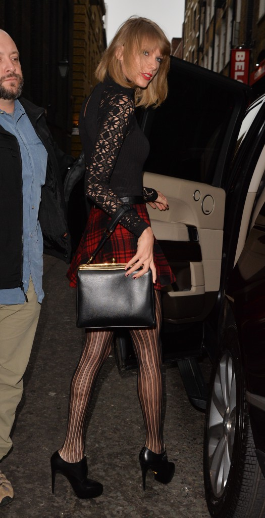 Taylor Swift à Londres le 1er décembre 2014
