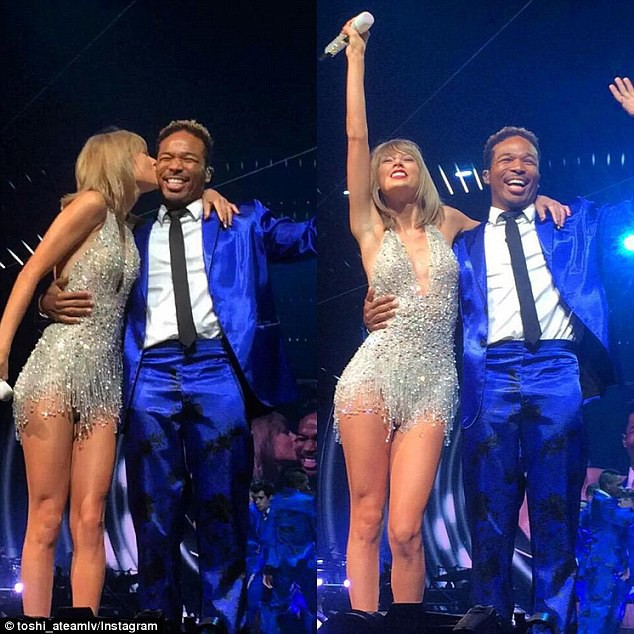 Taylor Swift et son danseur Toshi