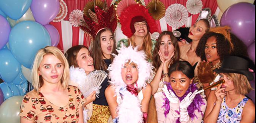 Taylor Swift, Gigi Hadid, Sarah Hyland, HAIM et Hailee Steinfeld le 14 juin 2015