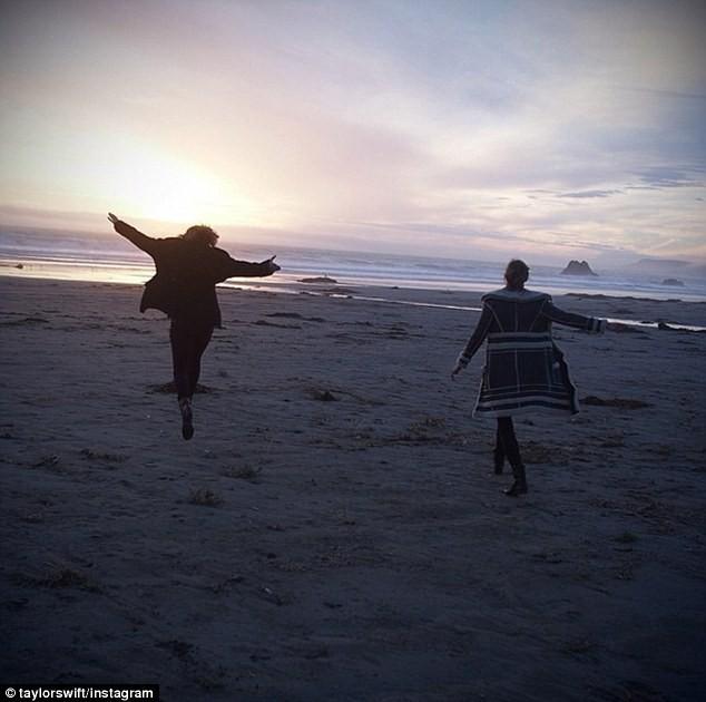 Taylor Swift et Karlie Kloss en vacances en Californie du Nord.