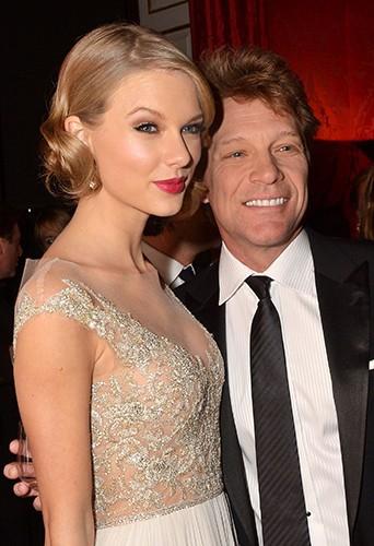 Taylor Swift et Jon Bon Jovi à Londres le 26 novembre 2013