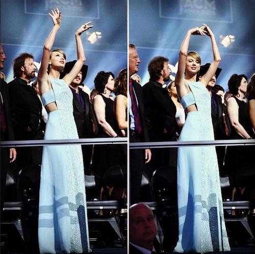 Photos : Taylor Swift honorée par le monde country et sa mère, entre polémique et émotion !