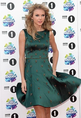 Taylor Swift à Londres dimanche 3 novembre 2013