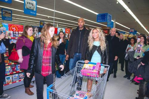 Beyoncé - Des courses gratuites !
