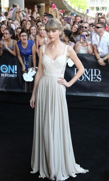 Taylor Swift lors des ARIA Music Awards 2012 à Sydney, le 28 novembre 2012.