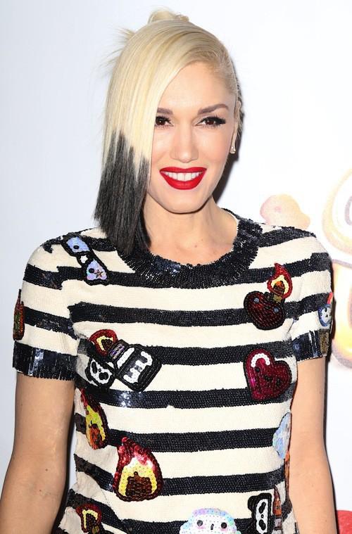 Gwen Stefani au Jingle Ball 2014 à New York, le 12 décembre 2014