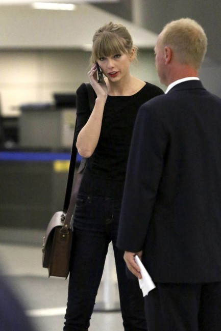 Taylor Swift le 12 novembre 2012 à Los Angeles