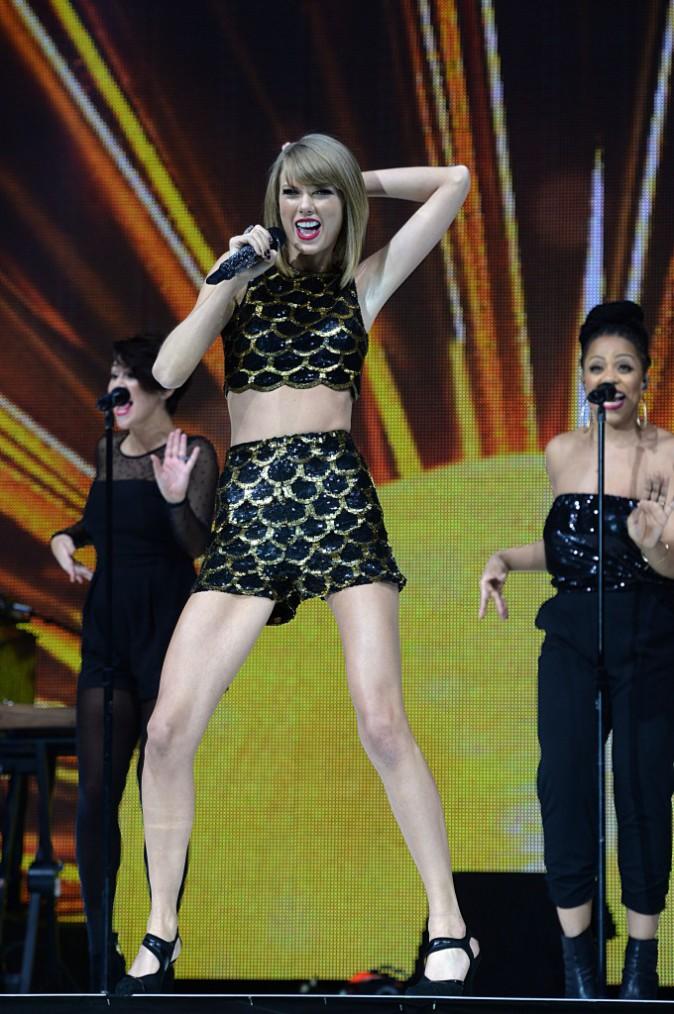 Taylor Swift à Londres le 7 décembre 2014