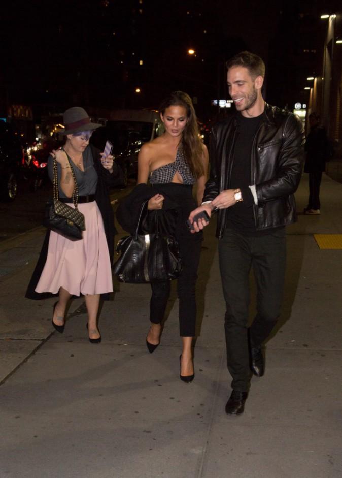 Chrissy Teigen et Kelly Osbourne le 11 novembre 2014