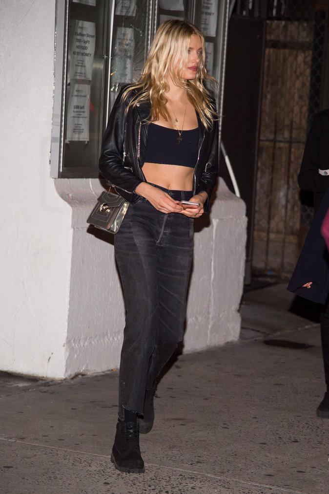 Lily Donaldson à New York le 12 octobre