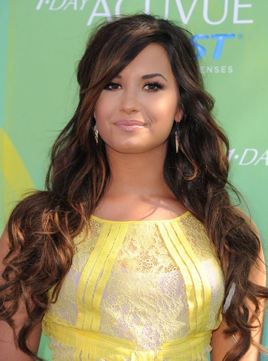 Demi Lovato lors des Teen Choice Awards 2011 à Los angeles, le 7 août 2011.