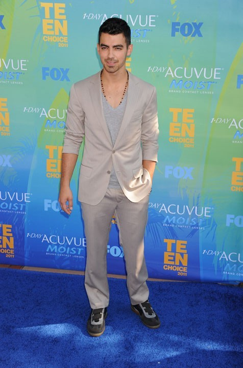Joe Jonas lors des Teen Choice Awards à Los Angeles, 7 août 2011.