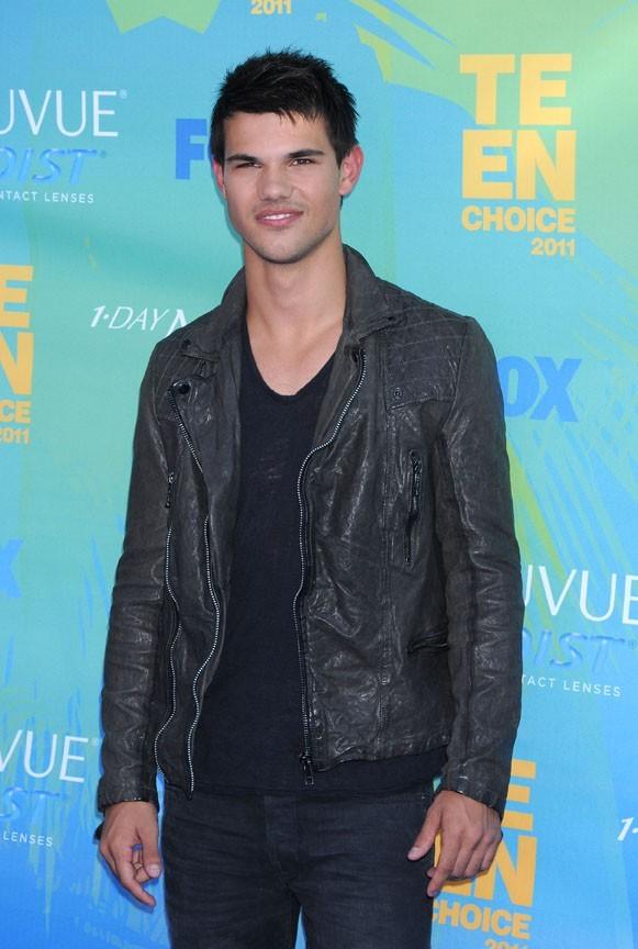 Taylor Lautner lors des Teen Choice Awards à Los Angeles, 7 août 2011.