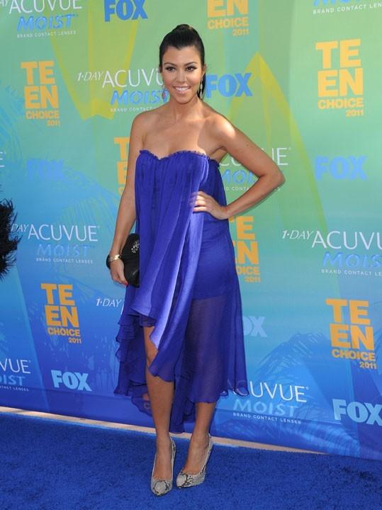 Kourtney Kardashian lors des Teen Choice Awards à Los Angeles, le 7 août 2011.