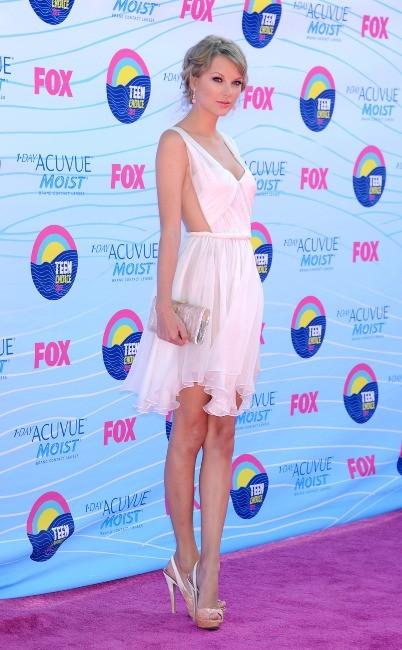 Taylor Swift lors des Teen Choice 2012 à Universal City, le 22 juillet 2012.