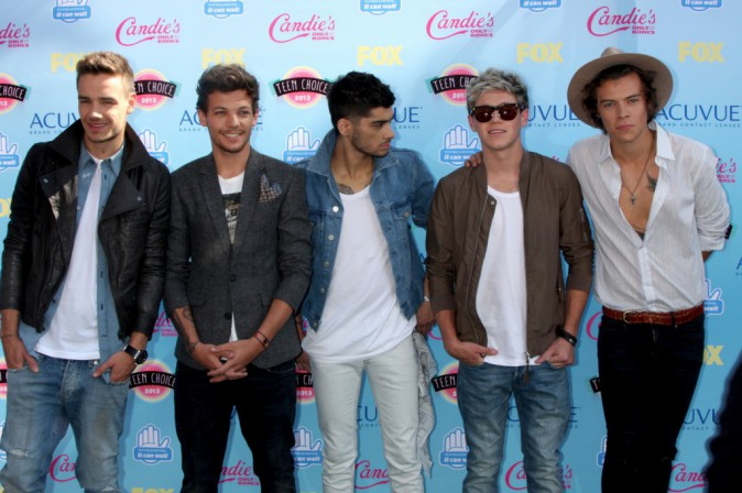 One Direction à la cérémonie de Teen Choice Awards le 11 août 2013