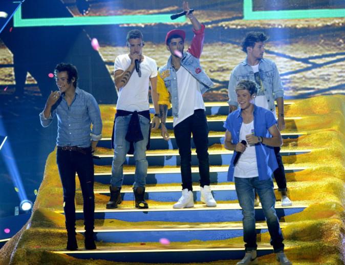 One Direction à la cérémonie de Teen Choice Awards le 11 août 2013