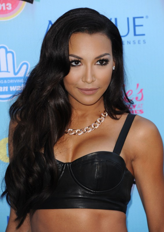 Naya Rivera lors des Teen Choice Awards à Los Angeles, le 11 août 2013.