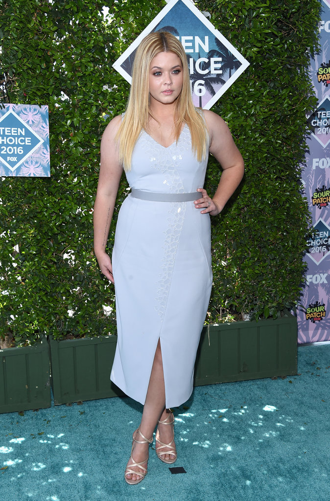 Sasha Pieterse aux Teen Choice Awards