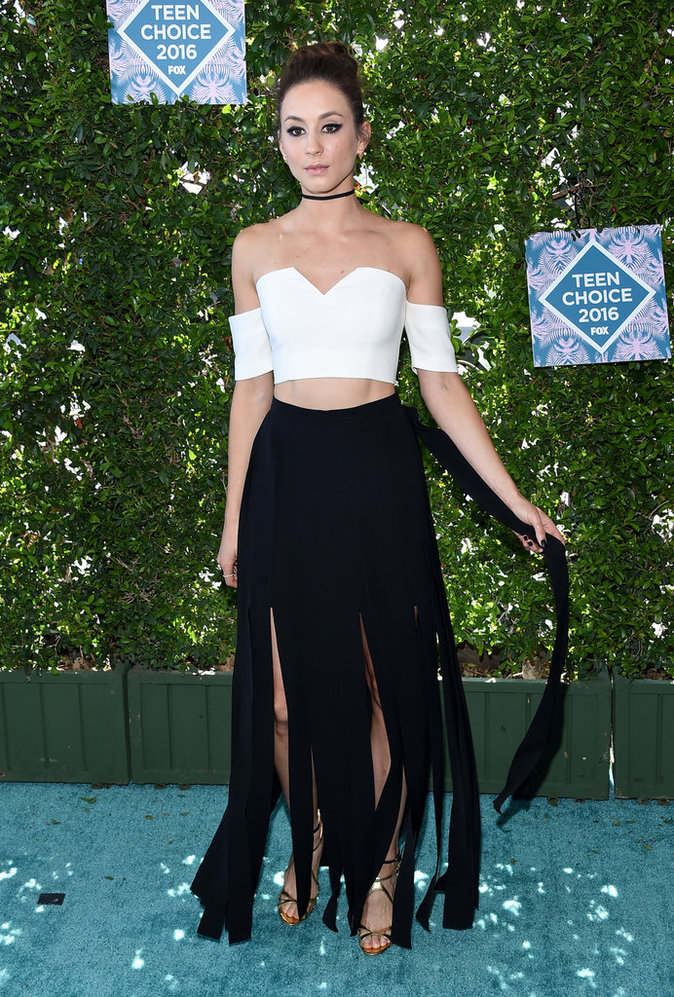 Troian Bellisario aux Teen Choice Awards 2016
