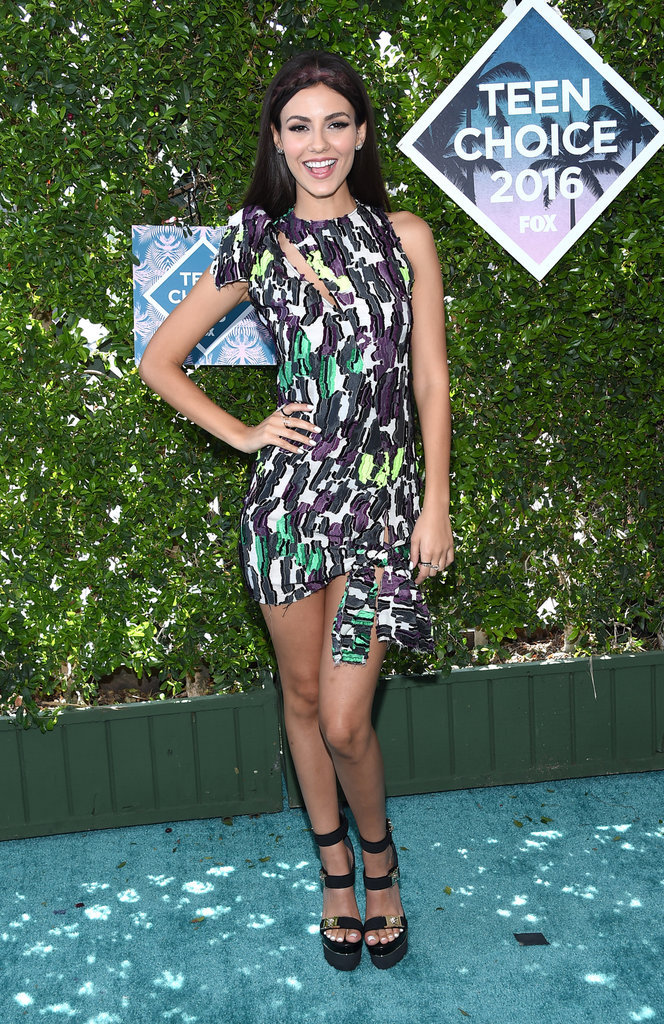 Victoria Justice aux Teen Choice Awards