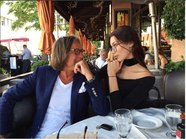 Bella Hadid et son papa