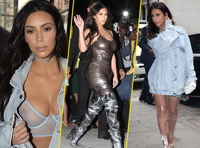 Photos : Tétons apparents, ras de cou à 10 000 dollars, cuissardes : Kim Kardashian dans toute sa splendeur !