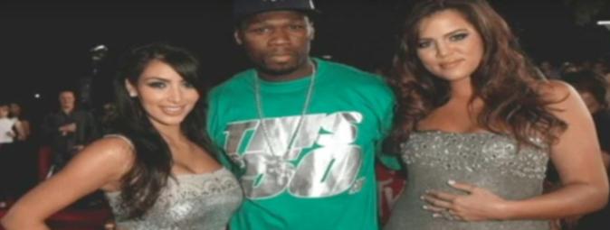Kim Kardashian, 50 Cent et Khloe Kardashian
