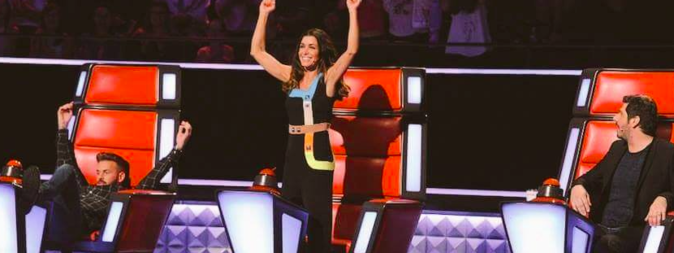The Voice Kids 3 : Jenifer : Sa combinaison signée Peter Pilotto coûte 1650€ !