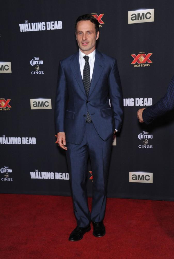 Andrew Lincoln à Los Angeles le 2 octobre 2014