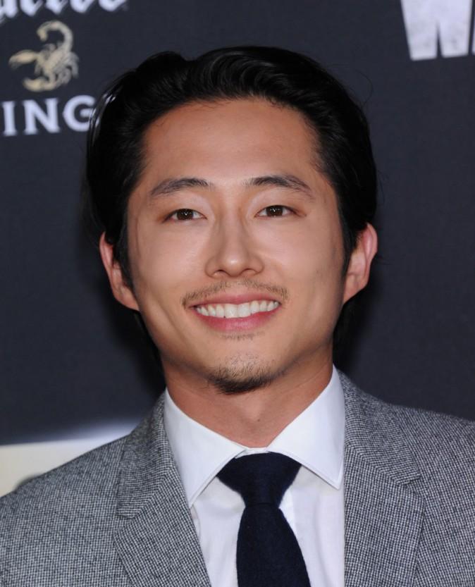 Steven Yeun à Los Angeles le 2 octobre 2014