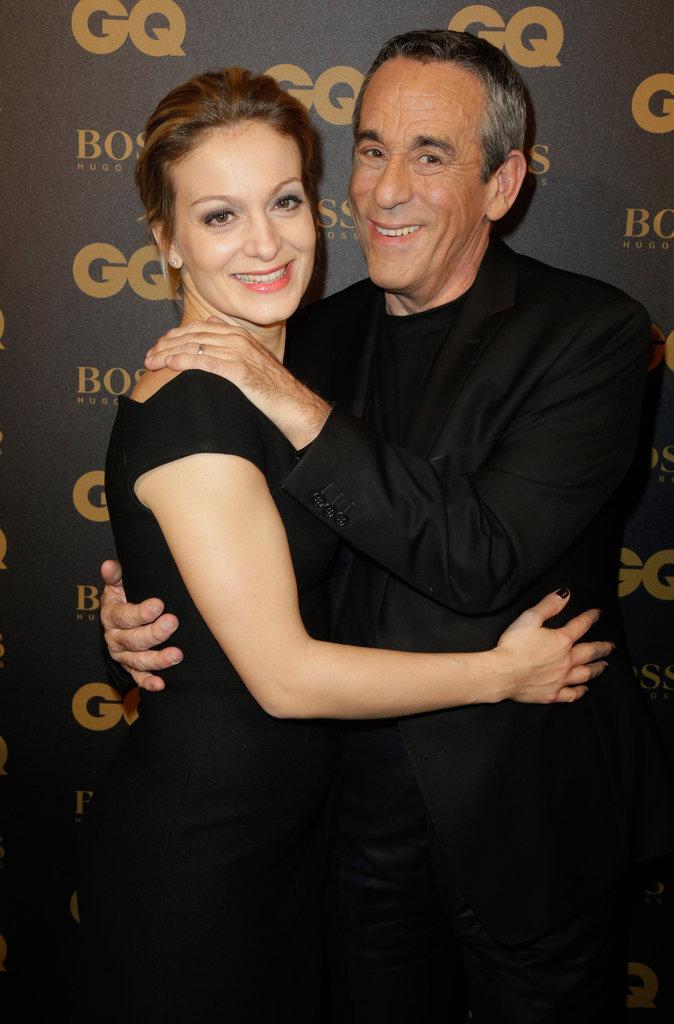 Photos : Thierry Ardisson et Audrey jouent la mélodie du bonheur aux GQ Awards