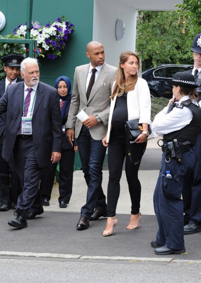 Photos : Thierry Henry et Robert Pirès : en charmante compagnie à Wimbledon !