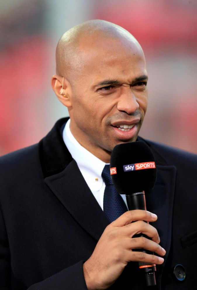 Thierry Henry, nouveau consultant de Sky Sports