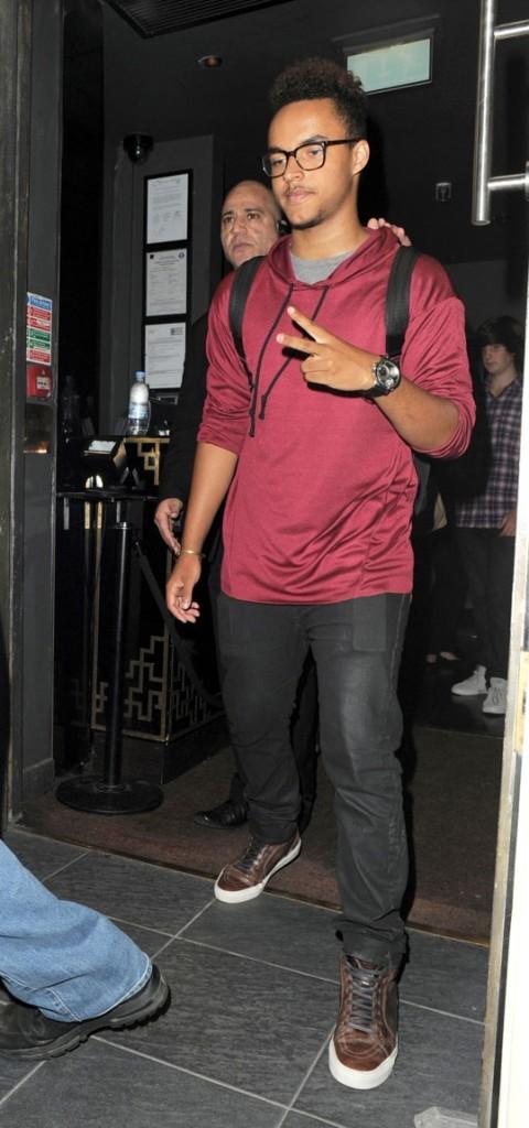 Connor Cruise à Londres le 23 août 2012