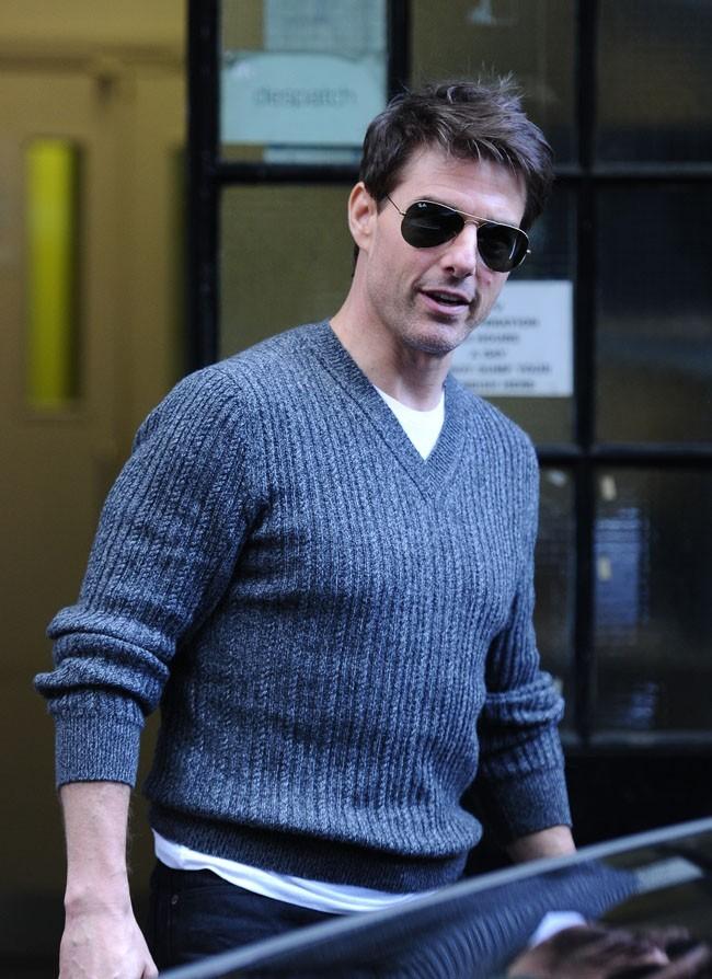 Tom Cruise à Londres le 12 septembre 2012