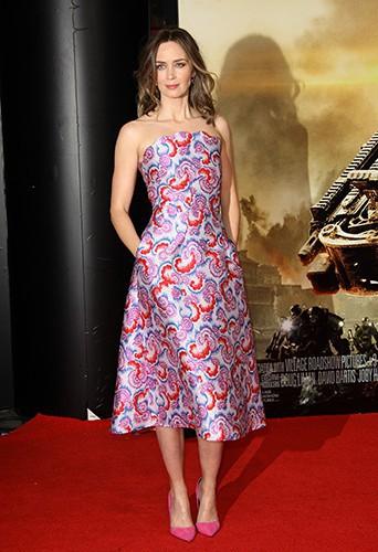 Emily Blunt à Londres le 27 mai 2014