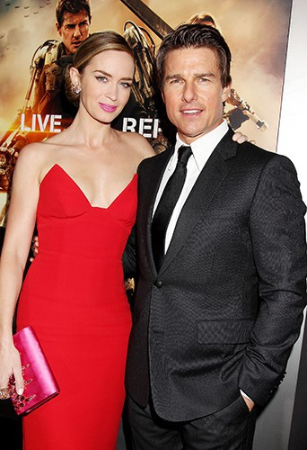 Emily Blunt et Tom Cruise à New York le 28 mai 2014