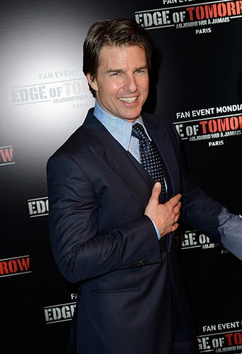 Tom Cruise à Paris le 28 mai 2014