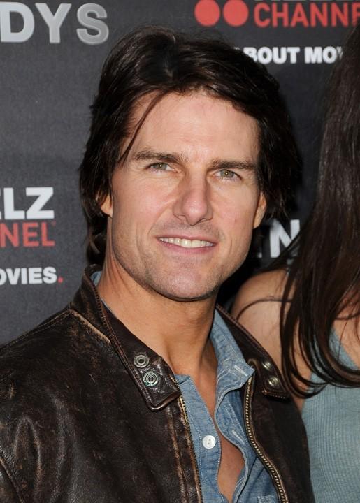 Tom Cruise a tenu à accompagner sa femme...
