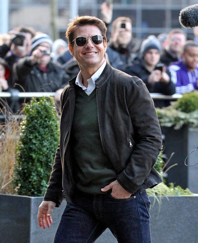 Tom Cruise le 9 décembre 2012 à Manchester